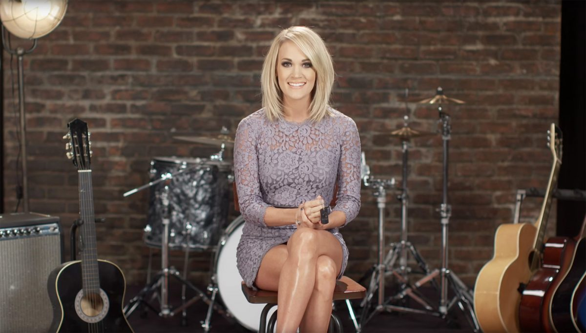 Carrie Underwood partnership with Carnival Cruise Line