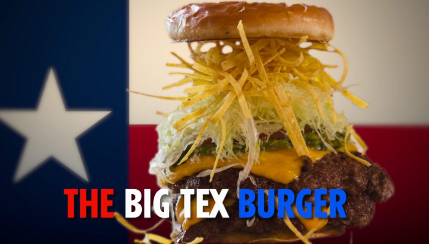 guy fieris big tex burger